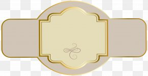 Label - Paper Label Luxury Clip Art PNG
