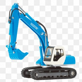 Blue Shovel Car - Amazon.com Komatsu Limited Excavator Agatsuma Die-cast Toy PNG