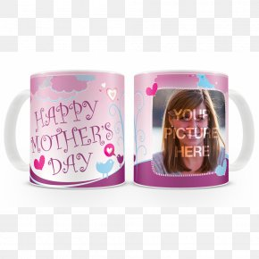 Happy Mothers' Day - Mug Pink M Cup RTV Pink PNG