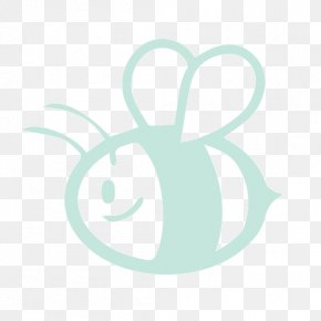Crafts - Bee Aqua Teal Green Turquoise PNG
