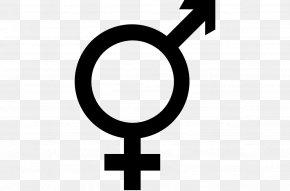 Symbol - Transgender Gender Symbol Sign LGBT PNG