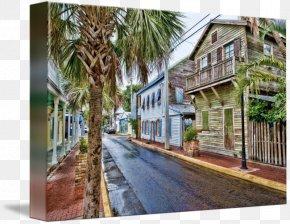 Key West - Key West Gallery Wrap Canvas Property Art PNG