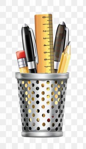 Pen Case - Office Supplies Clip Art PNG