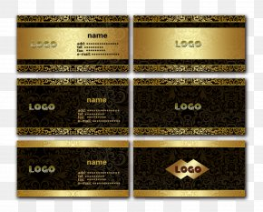 Business Card Design - Business Card Logo Advertising PNG