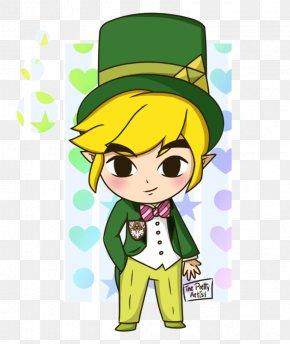 Top Hat - The Legend Of Zelda: Spirit Tracks Link Cartoon Nintendo Fan Art PNG