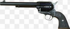 Revolver Firearm Colt Single Action Army Gun PNG
