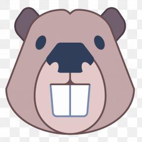 Fawn Brown Bear - Cartoon Nose Snout Clip Art Bear PNG
