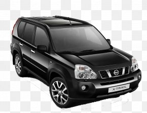 Black SUV - Nissan X-Trail Nissan GT-R Car Ford Escape PNG