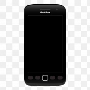 Vector Black Mobile Phone Model - Feature Phone Smartphone Multimedia Mobile Device Mobile Phone PNG