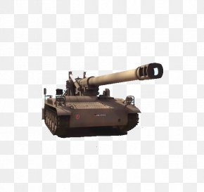 Tank Weapons - 3D Computer Graphics 3D Modeling Tank M110 Howitzer Artillery PNG