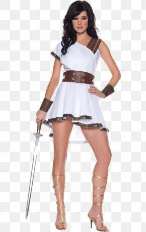 Gladiator Costume - Halloween Costume Clothing T-shirt Dress PNG