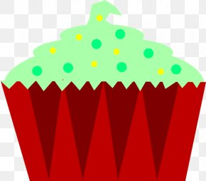 Striped Clipart - Christmas Cupcakes Birthday Cake Muffin Clip Art PNG