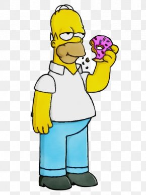 Homer Simpson The Simpsons: Tapped Out Television Apple - The Simpsons PNG