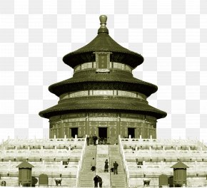 Creative Background Temple Of Heaven - Tiananmen Square Temple Of Heaven Forbidden City Great Wall Of China Badaling PNG