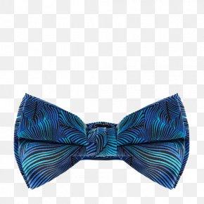 Blue And Purple Striped Tie - Blue Purple Necktie Bow Tie PNG