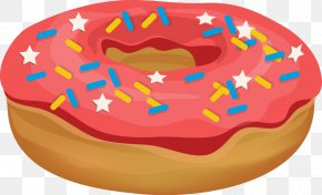 Donut - Coffee And Doughnuts Clip Art PNG
