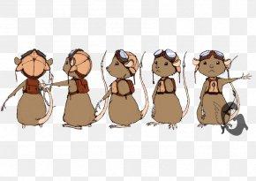 Computer Mouse - Computer Mouse Comics Cartoon Illustration Character PNG