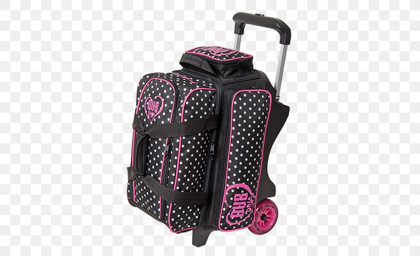 2 Ball Roller Bowling Bag Hand Luggage Png 500x500px