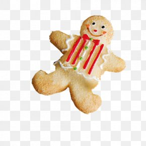 Little Christmas Decoration - Biscuit Gingerbread Man Cookie PNG
