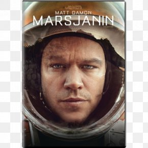 Dvd - Matt Damon The Martian Blu-ray Disc Mark Watney DVD PNG