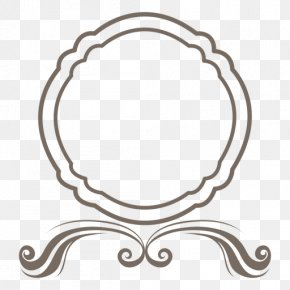 Round Frame Image - Picture Frame Ornament Clip Art PNG