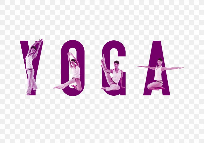 Yoga Poster Physical Fitness, PNG, 3318x2336px, Yoga, Beauty, Bodybuilding, Logo, Magenta Download Free