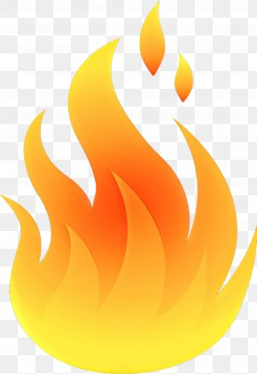 Fire Flame - Yellow Clip Art Flame Fire PNG