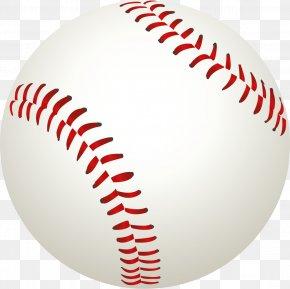 Baseball Ball - Baseball Bat Clip Art PNG