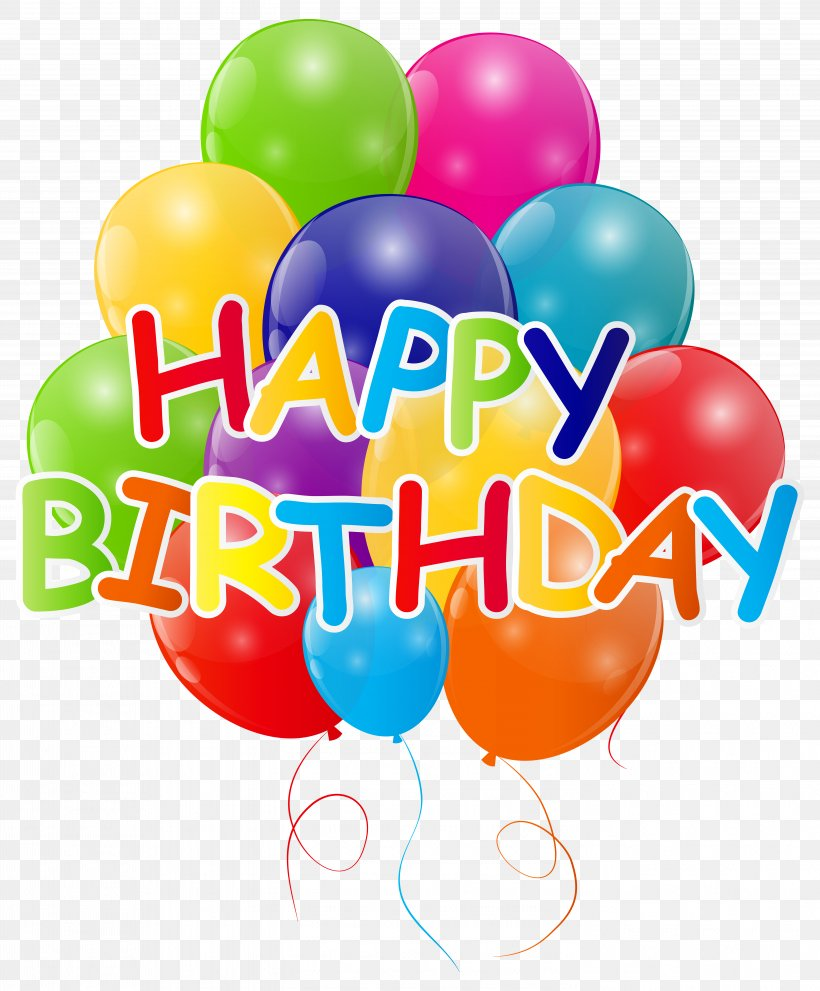 Birthday Balloon Clip Art, PNG, 5789x7000px, Balloon, Birthday, Clip Art, Digital Scrapbooking, Gas Balloon Download Free