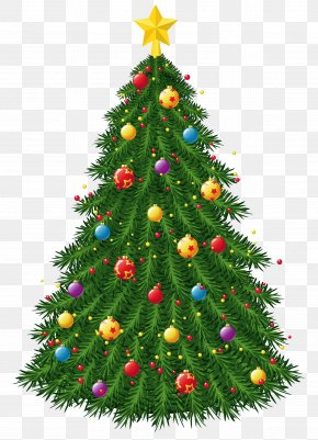 Transparent Christmas Tree With Ornaments Picture - Christmas Tree Christmas Ornament Christmas Decoration PNG