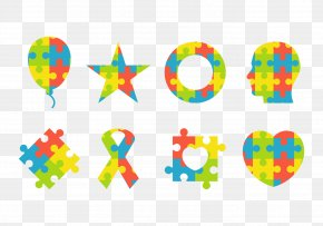 Clolorful Letters - Autism Network International Autistic Spectrum Disorders Symbol National Autistic Society PNG