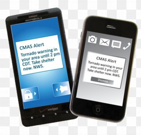 Mobile Phone Services - Wireless Emergency Alerts Emergency Alert System Weather Warning National Weather Service Mobile Phones PNG