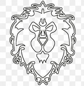 World Of Warcraft - World Of Warcraft Drawing Logo Line Art Clip Art PNG