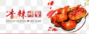 Spicy Crab - Crab Yangcheng Lake Seafood Meatball PNG