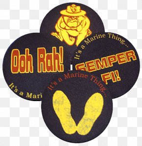Hughes Marine Service Inc - Devil Dog United States Marine Corps Logo Font PNG