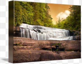 Mountain Waterfall - Waterfall Looking Glass Falls Landscape Nature Stream PNG