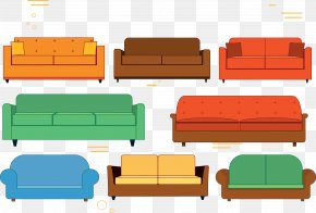 Vector Software Sofa - Couch Software Euclidean Vector PNG