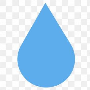 Water Drop - Pile Of Poo Emoji SMS Text Messaging Apple Color Emoji PNG