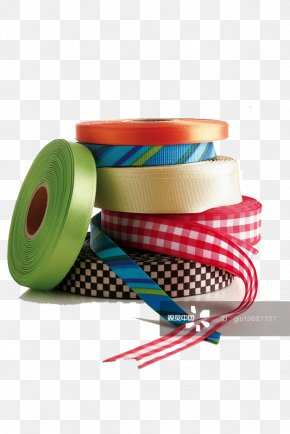 Multi-color Ribbon - Ribbon Colour Banding Color PNG