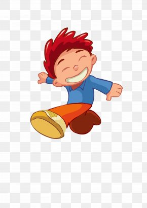 Cartoon Child Element - Cartoon PNG
