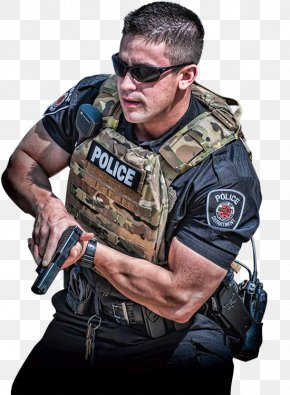 Law Enforcement Officer - Soldier Plate Carrier System Police Officer Bullet Proof Vests Military PNG