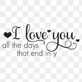 Quotation - Love Quotation Decal PNG