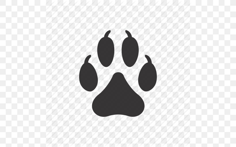 Dog Paw, PNG, 512x512px, Dog, Animal, Animal Rescue Group, Black, Black And White Download Free