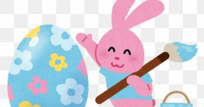 Easter - Easter Bunny Easter Egg Resurrection Of Jesus Rabbit PNG