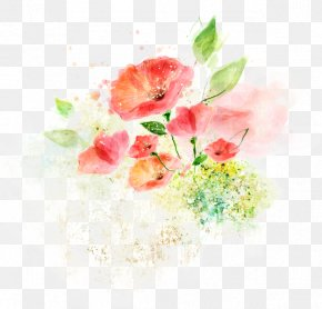 Flower - Flower Watercolor Painting Drawing Ink Wash Painting Illustration PNG