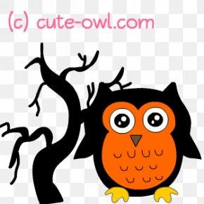 Halloween Clip - Owl Halloween Clip Art PNG