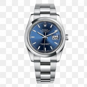 Male Watch Rolex Watch Blue - Rolex Datejust Rolex Sea Dweller Rolex GMT Master II Rolex Daytona Rolex Milgauss PNG