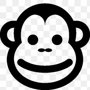 Year Of The Monkey - Emoticon Monkey Swap Smile PNG