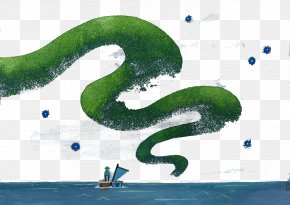 Creative Grass Lines - Creativity PNG