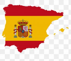 Portugal - Flag Of Spain Flag Of Spain Map National Flag PNG